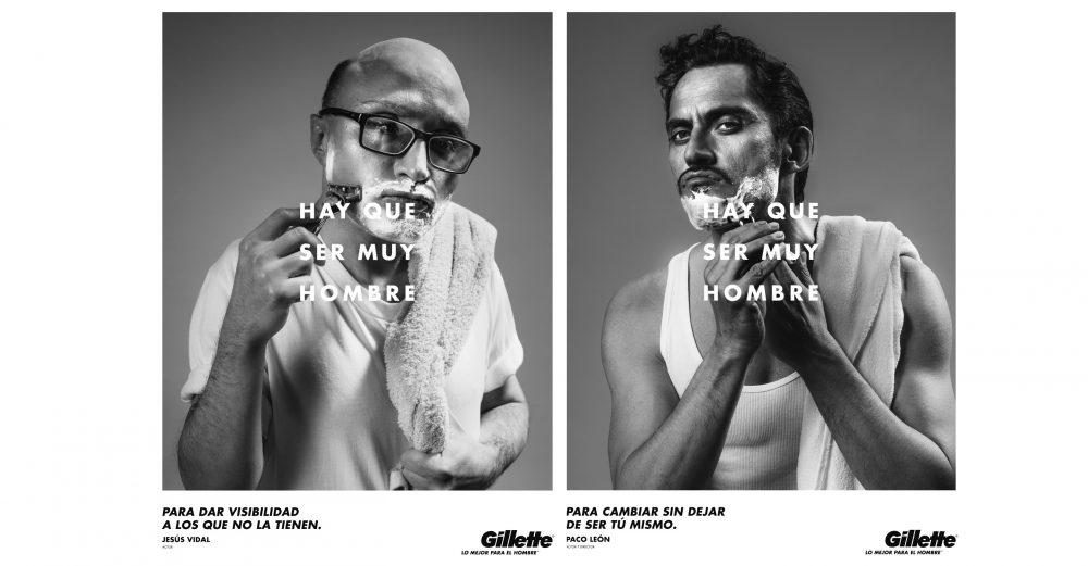 Gillette por Pablo Lorente